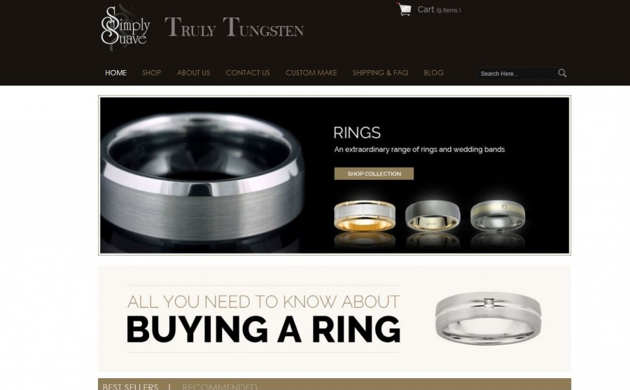 Content Revamp for a Jewellery Store